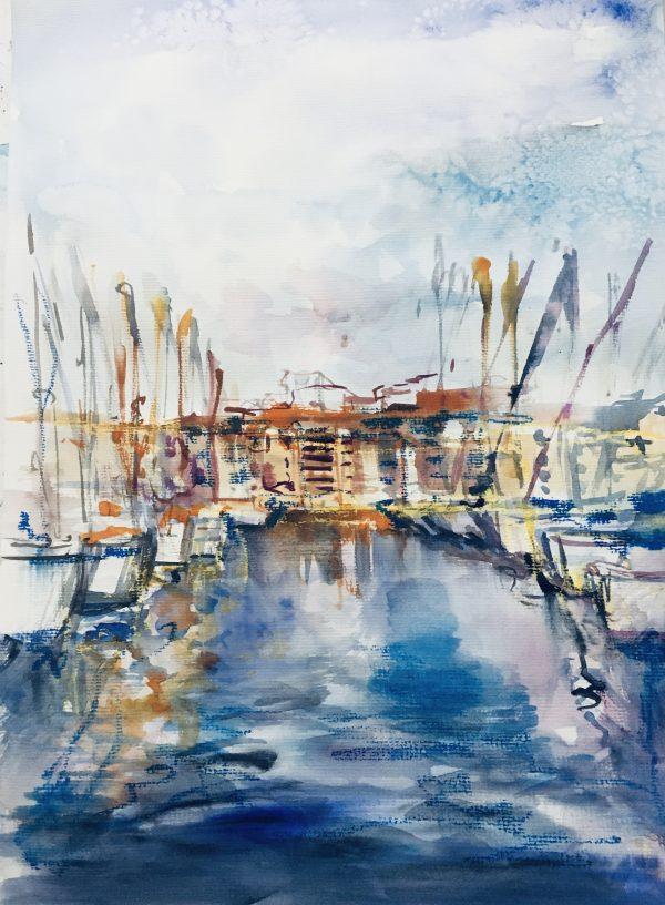 Port in Marseille